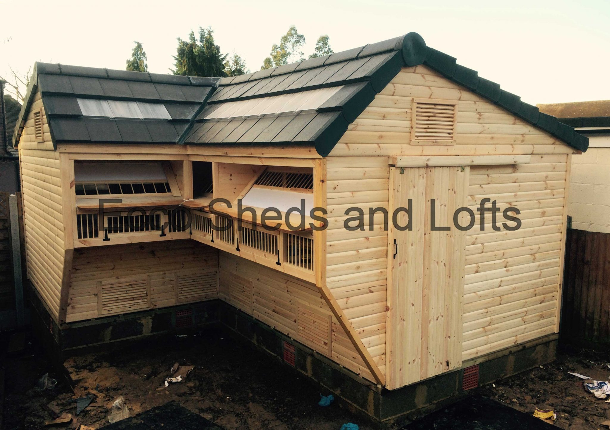 L shape lofts ecco sheds and pigeon lofts for L shaped shed designs
