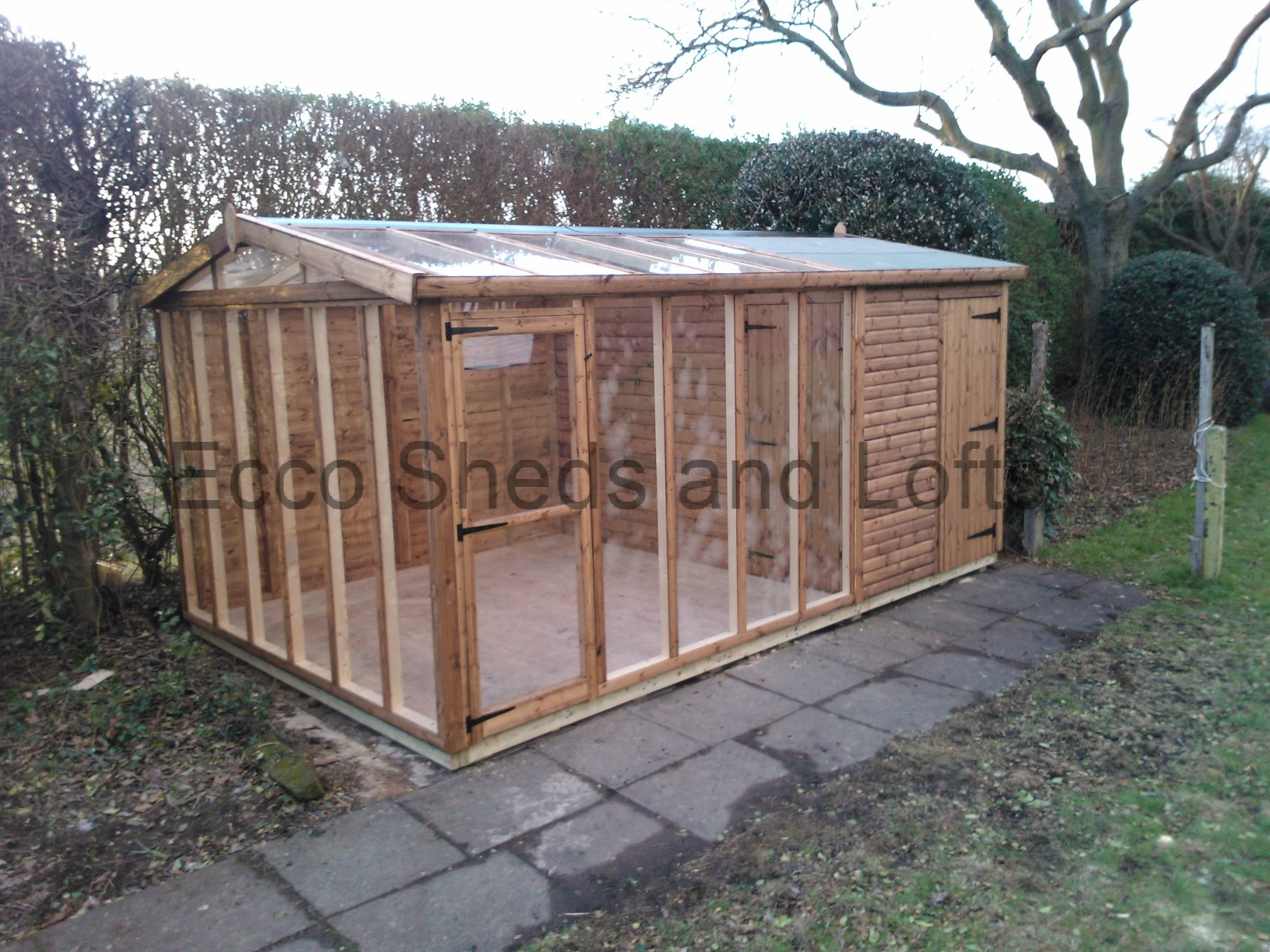 sheds tiver wooden storage ton potting accessible our devon products oakford help shed heroes the large for workshop