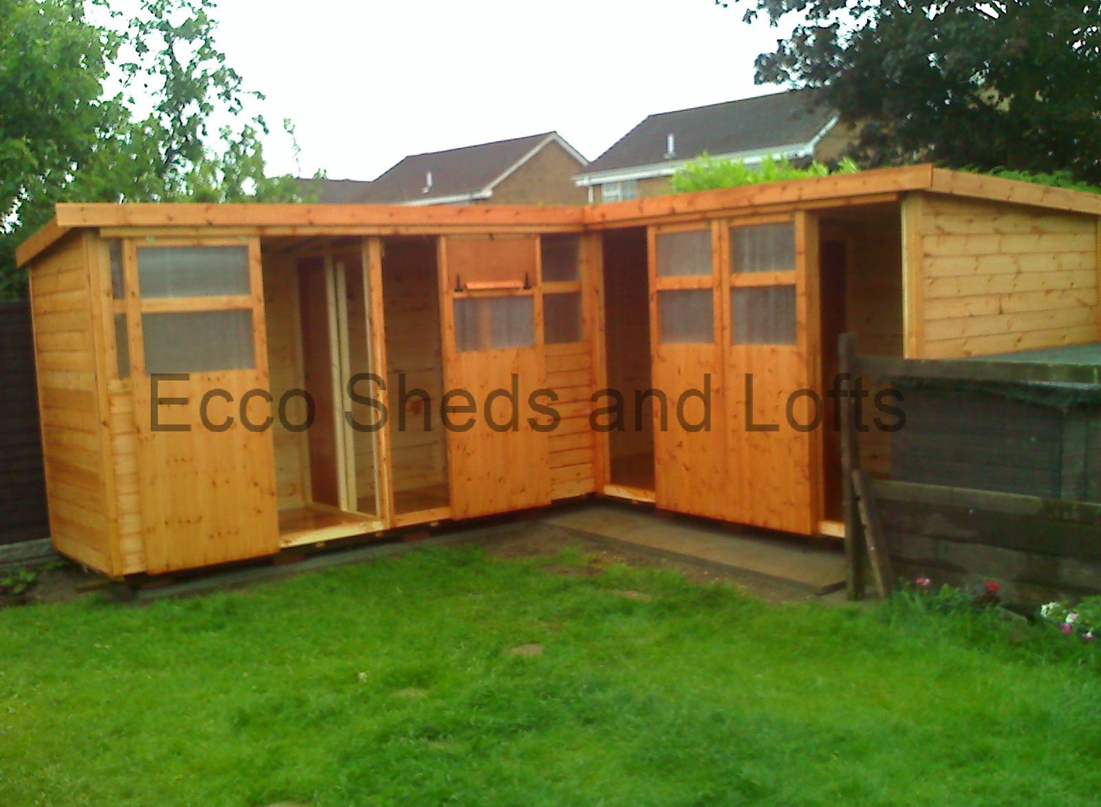 L shape lofts ecco sheds and pigeon lofts for L shaped shed